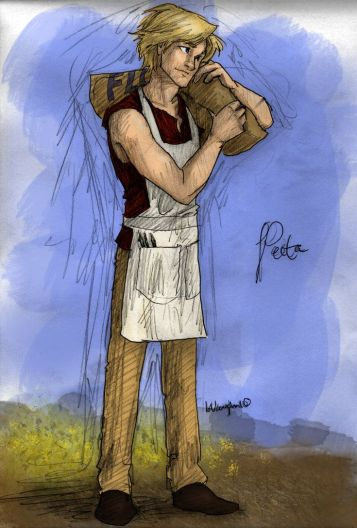 Peeta by sacha11410 on DeviantArt